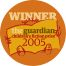 The Guardian Children's Fiction Prize 2005 stamp