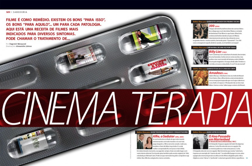 Cinematerapia 1/2 - Men's Health Brasil