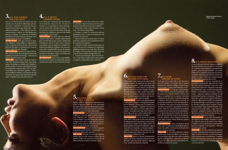 Solte as amarras dela 2/3 - Men's Health Brasil