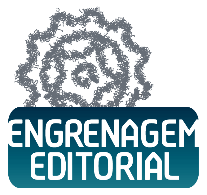 Terceira tentativa de logotipo para a Engrenagem Editorial